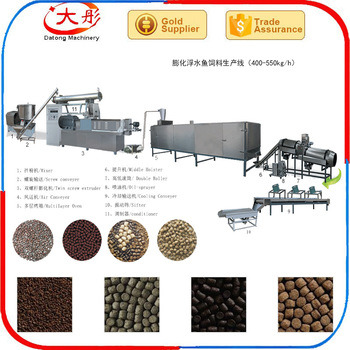 Fish Food Processing Line / Catfish Feed Machine