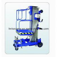 Henan Factory Price Aluminum Elevating Hydraulic Work Platform for Lifting