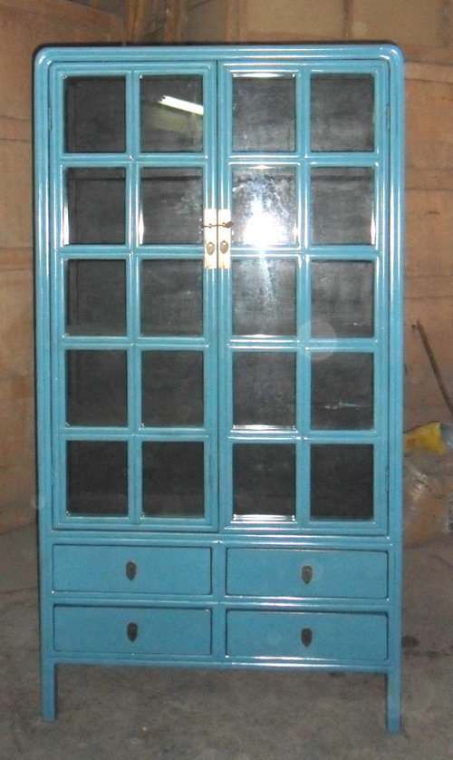 Antique Furniture Chinese Display Cabinet Lwa526-3