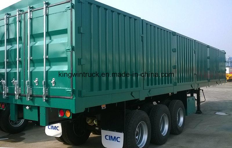 China Brand Coal Transport Semi-Trailer