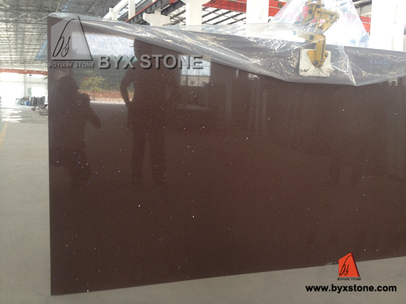 Manmade/Artificial Quartz Stone for Slabs, Countertops, Tiles