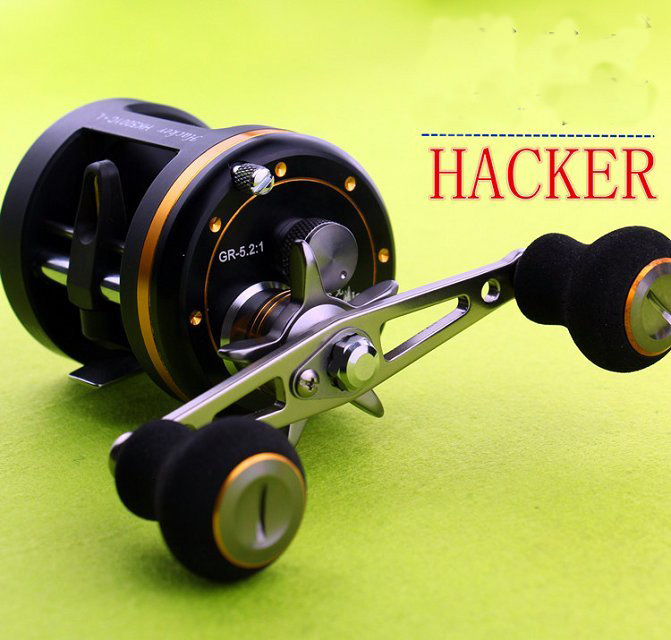 Aluminium Trolling Reel with 9+1 Japan NMB Ball Bearing Fishing Reel Fishing Tackle