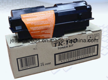 Compatible Tk130, Tk132, Tk134, Tk137, Tk140, Tk142, Tk144 Toner Cartridge W/Chip for Use in Kyocera Fs-1028/1128mfp/Fs-1100/1300d/Km-2810