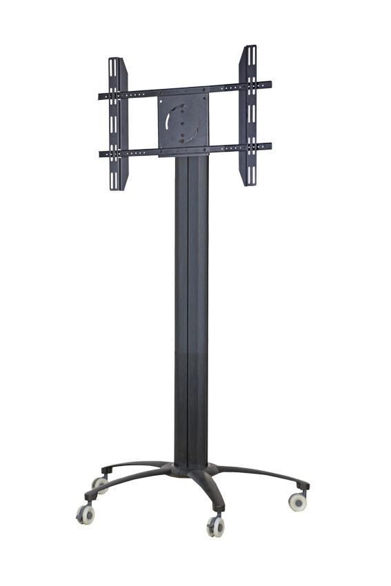 """Public TV Floor Stand Wheelbase 30-60"""" Landscape & Portrait (AVA 106A)"""