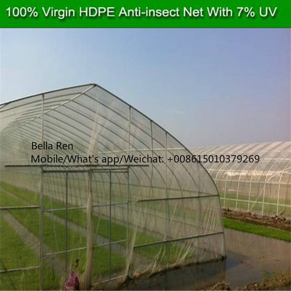 5m White Color Anti Insect Net Anti Aphid Mesh Insect Net for Greenhouse