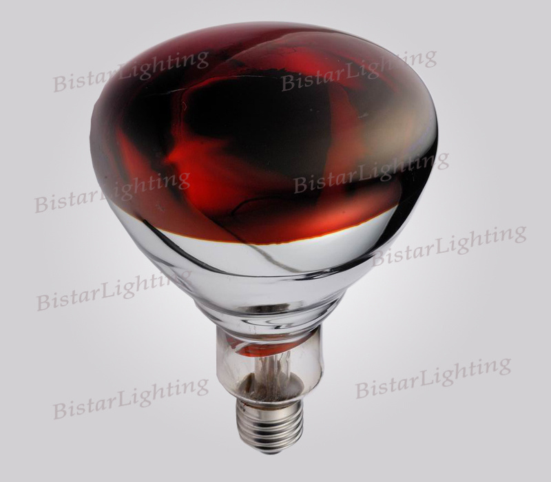 Infrared Heating Red Lamp R125 100W125W150W175W225W250W 275W 375W E26/E27