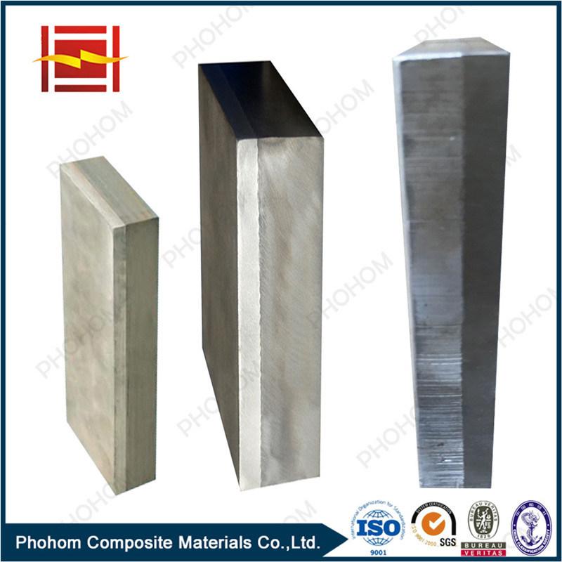 Explosive Welding Aluminum Steel Anode Block