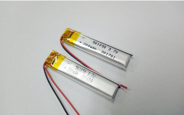 Lp501050 3.7V 200mAh Li-Po Lithium Polymer Battery