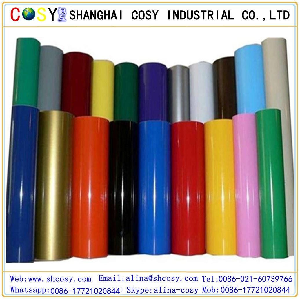 High Glossy and Matt PVC Color Vinyl for Cutting Plotter
