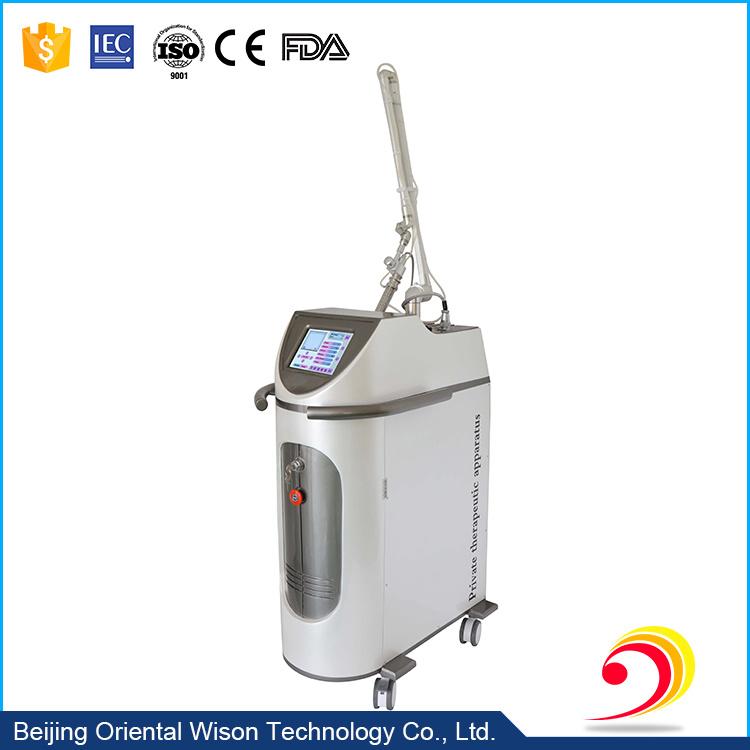 10600nm RF Tube Fractional CO2 Laser Vaginal Rejuvenation Device