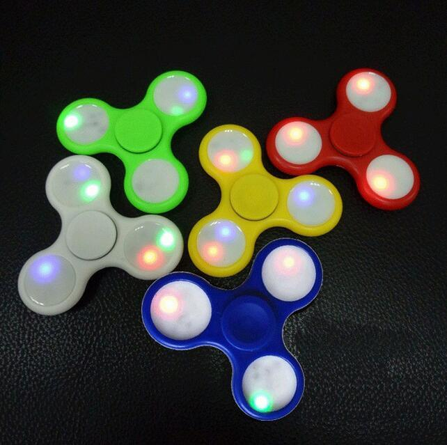 LED Hand Spinner EDC Spinner with LED Lights