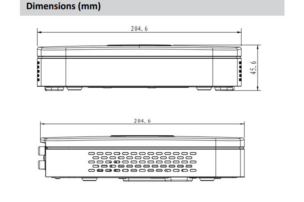 Dahua 8channel Smart 1u 4k&H. 265 Lite NVR (NVR4108-4KS2)