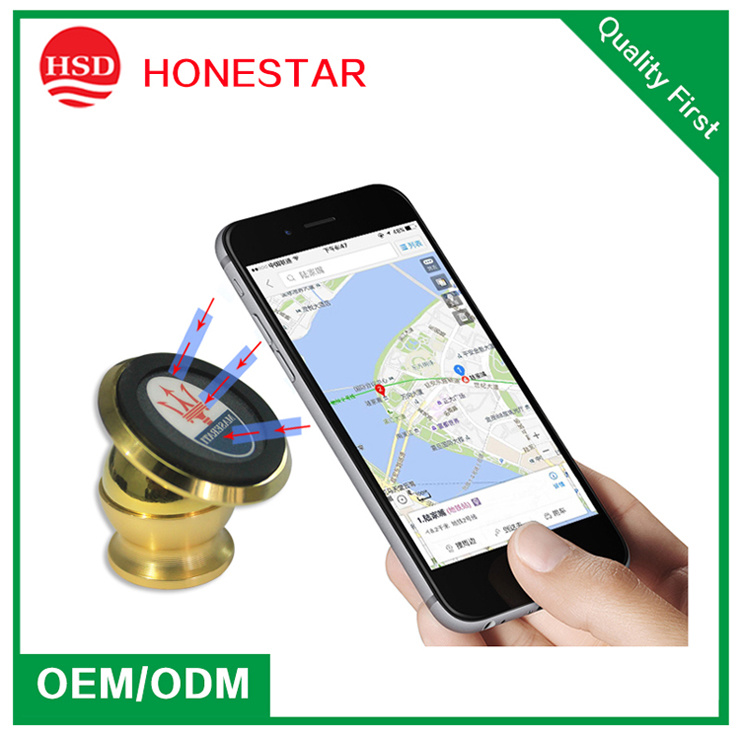 360 Degree Rotation Cell Mobile Phone Car Mount Magnetic Holder