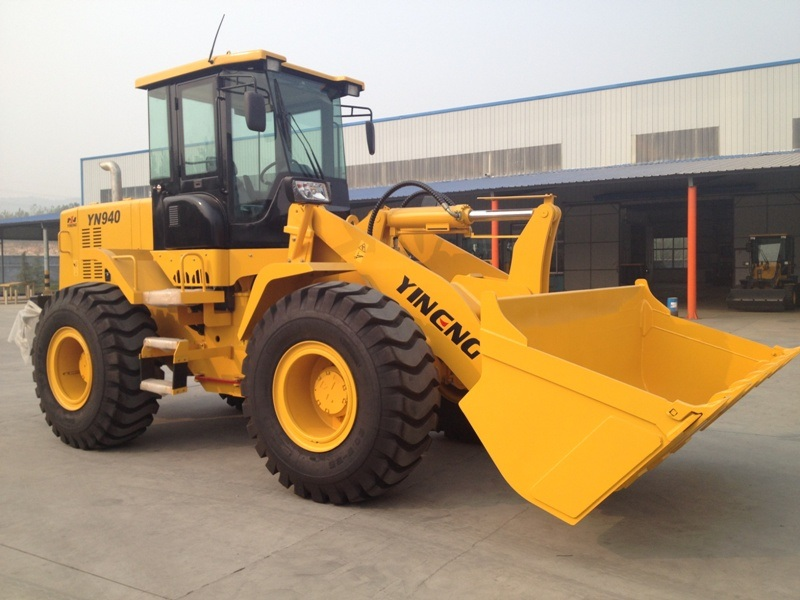 Yn940 Wheel Loader 4 Tons, Cummins Engine 112kw