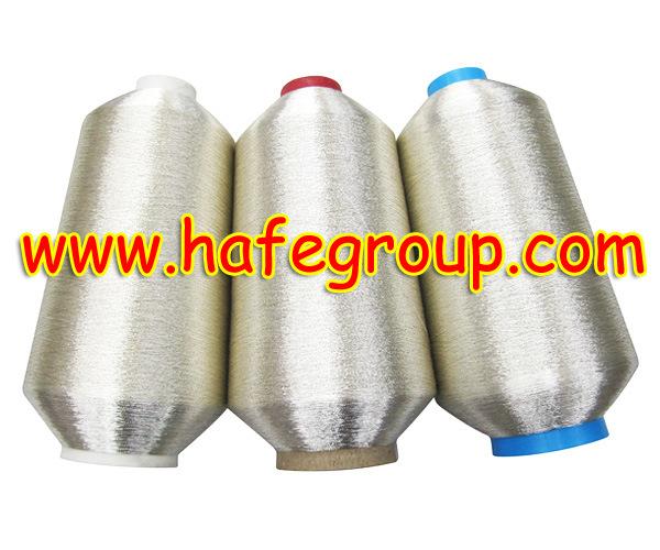 Pure Silver Metallic Yarn (MS-Type)