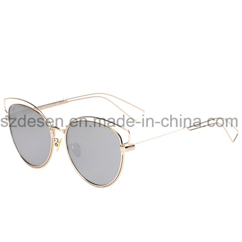 Wholesale fashion Brand Name Metal Sunglasses in Stock