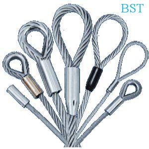 Bst Galvanized Steel Wire Rope Slings