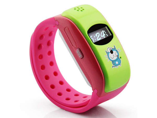 Smart Watch with Dial / SMS/ Music Player / GPS Tracking/Sos/GPRS for Mobile Phone