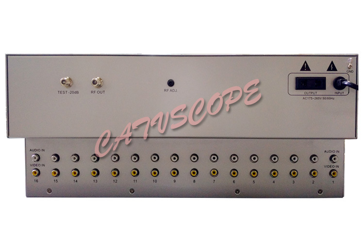 Csp-16am CATV 16way 4u Adjacent Agile Modulator