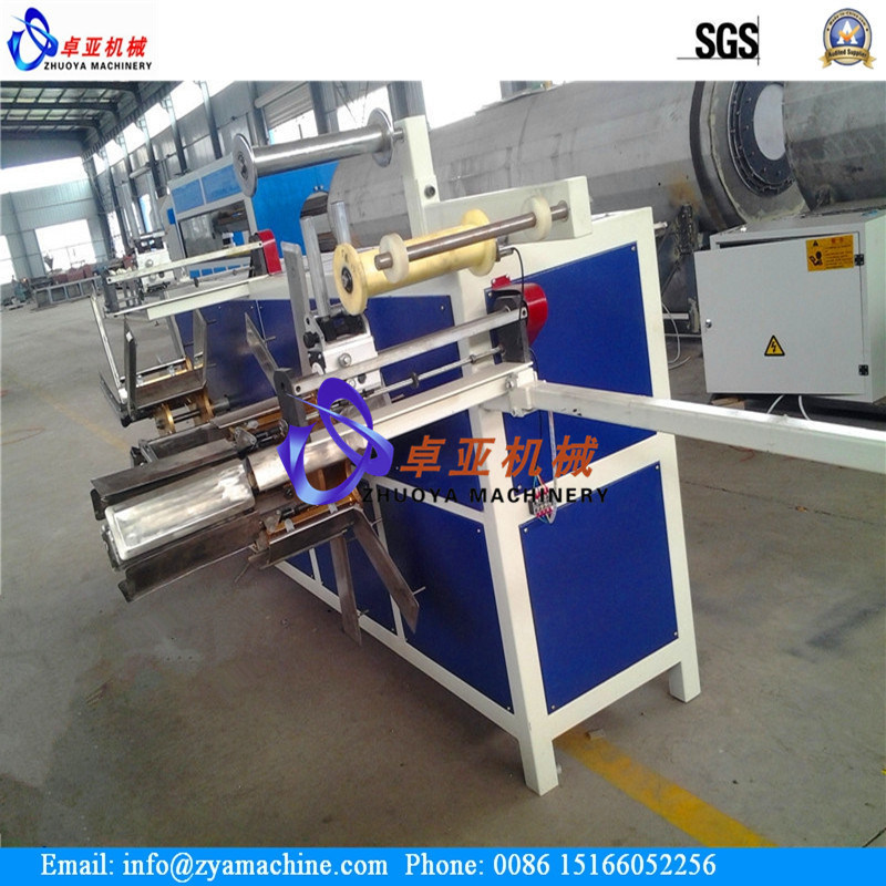 PE/PVC/PP SWC Single Wall Corrugated Pipe Tube Extruder Machinery