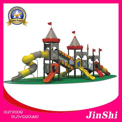 Caesar Castle Series 2017 Latest Outdoor/Indoor Playground Equipment, Plastic Slide, Amusement Park GS TUV (KC-001)