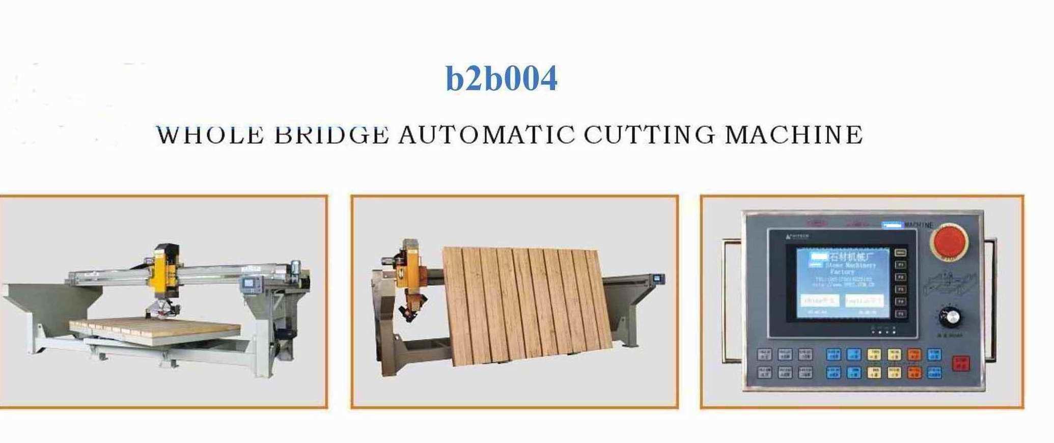 Automatic Stone Cutting Machine Bridge Saw