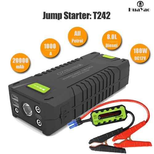 Portable Car Battery Charger Multifunction Power Starter Car Jump Starter