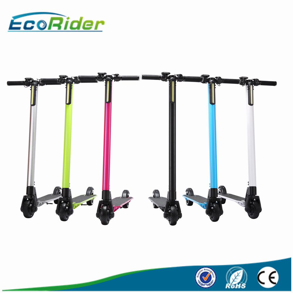 Ecorider New Products Two Wheel Mini Foldable Electric Scooter for Adults