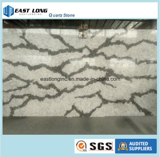 Ce & SGS New Designed Cambria Marble Artificial Quartz Stone for Building Material