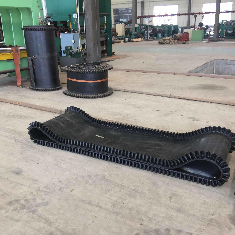 Sidewall No Cleat Belt, No Cleat Sidewall Rubber Belt