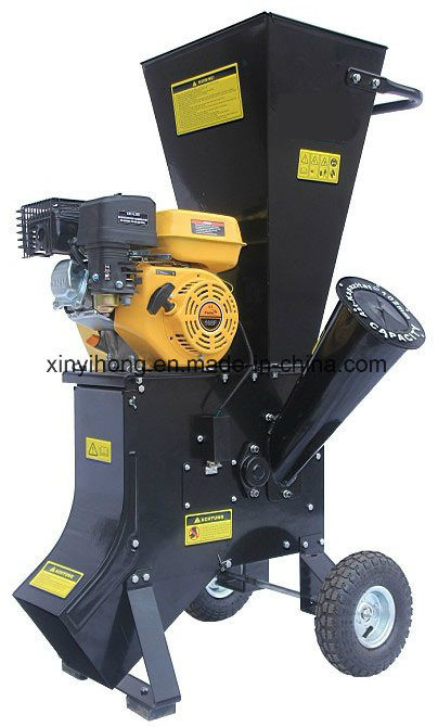 Wood Chipper Leaf Shredder 6.5 HP Gasoline Machine