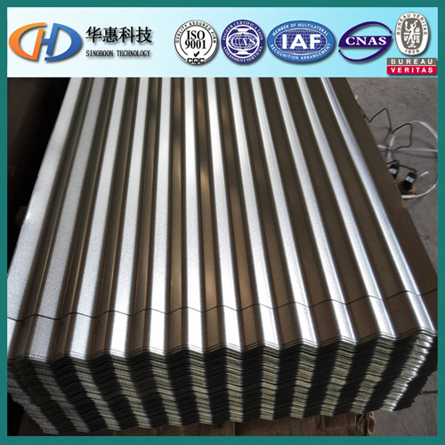 Corrugated Steel Sheet for Tiles