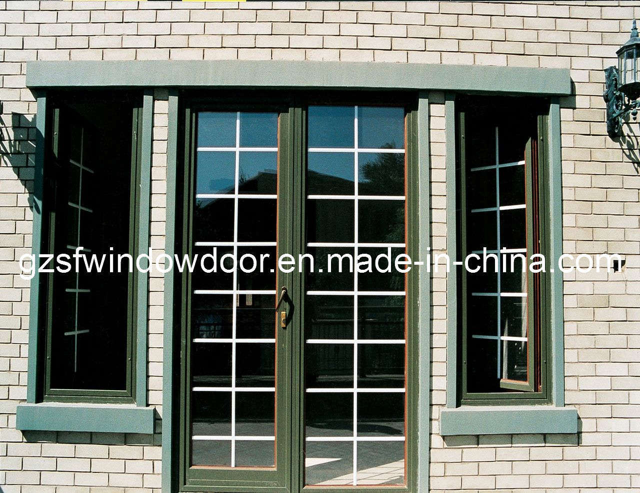 Aluminum door aluminum door window manufacturing for Window door manufacturers