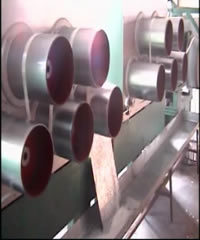 Guiding Rollers for PSF Production Line for Spinning