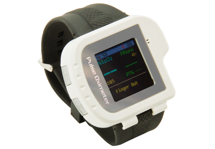 CE&FDA Wrist Pulse Oximeter SpO2 Sensor with Color Display Cms50I