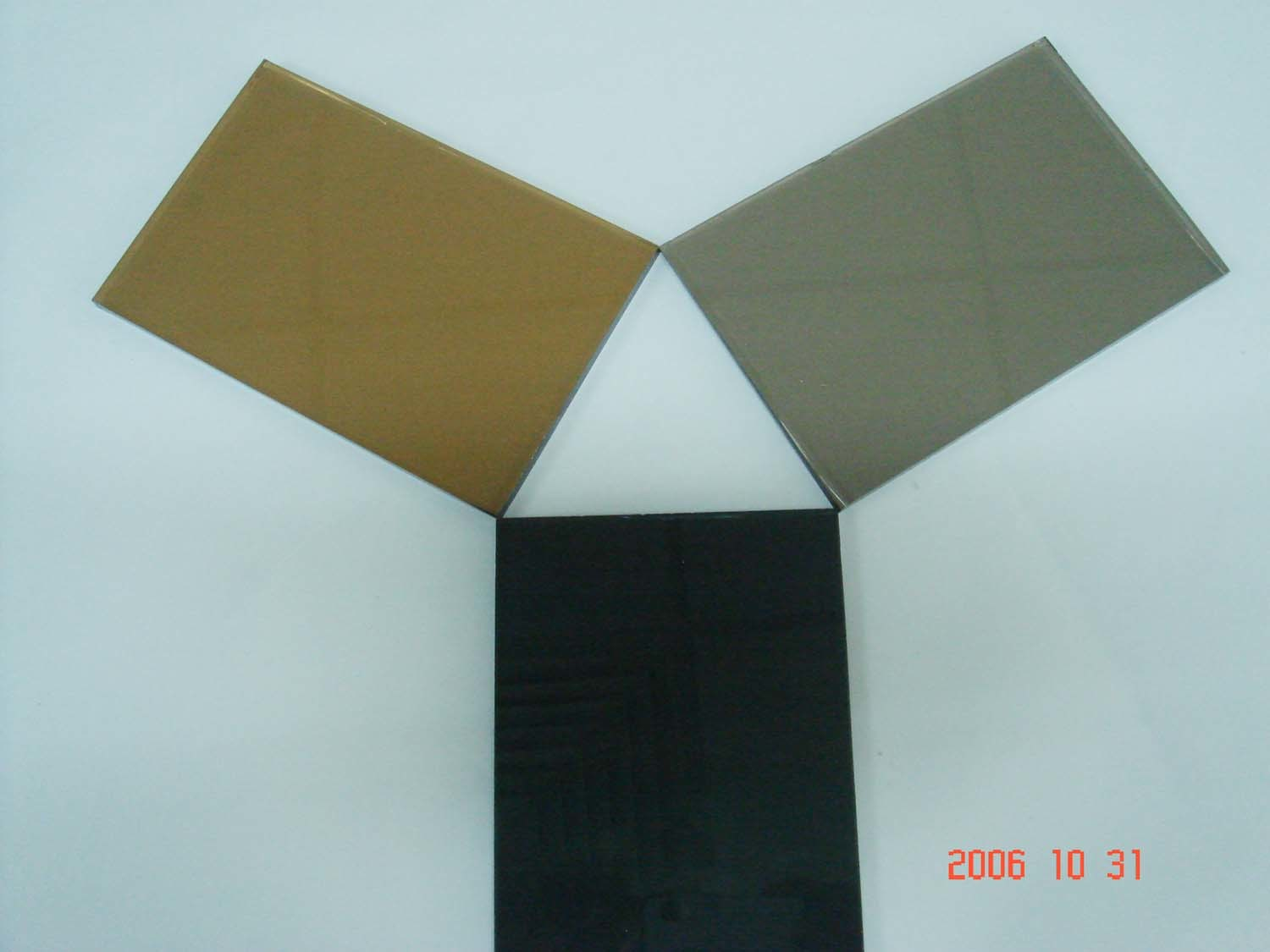 China Colored Sheet Yrg Gsg8002 China Dark Grey Sheet Colored Glass Sheets