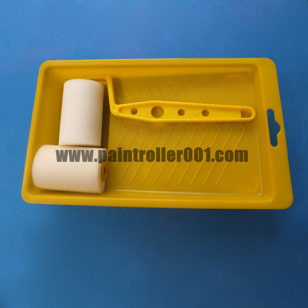 "2"" Mini Foam (sponge) Paint Roller Set (unit)"