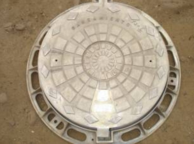 En124 D400 Casting Manhole Cover with Round Frame