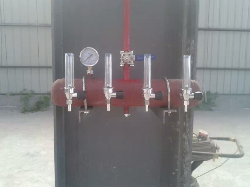 Central Supplying Gas Device