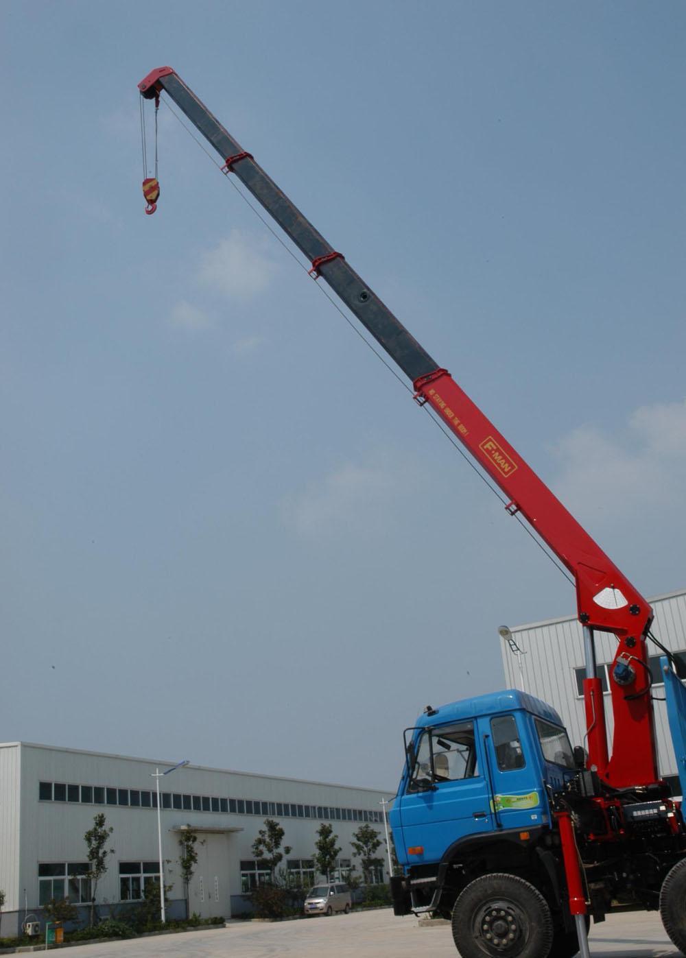 Parts Of A Crane Boom : China telescoping boom crane ton truck