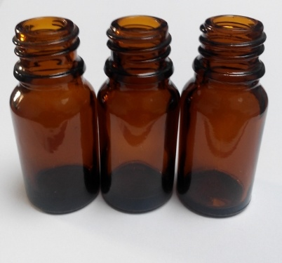 Amber Color Glass Essential Oil Bottles