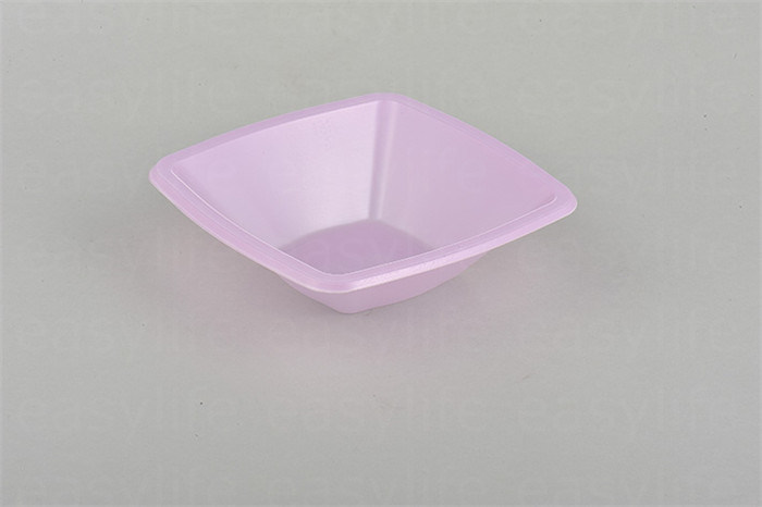 Shape 2 Easylife Various Disposable PS Plastic Square Plate