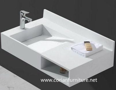 Acrylic Solid Surface Bathroom Corian Basin