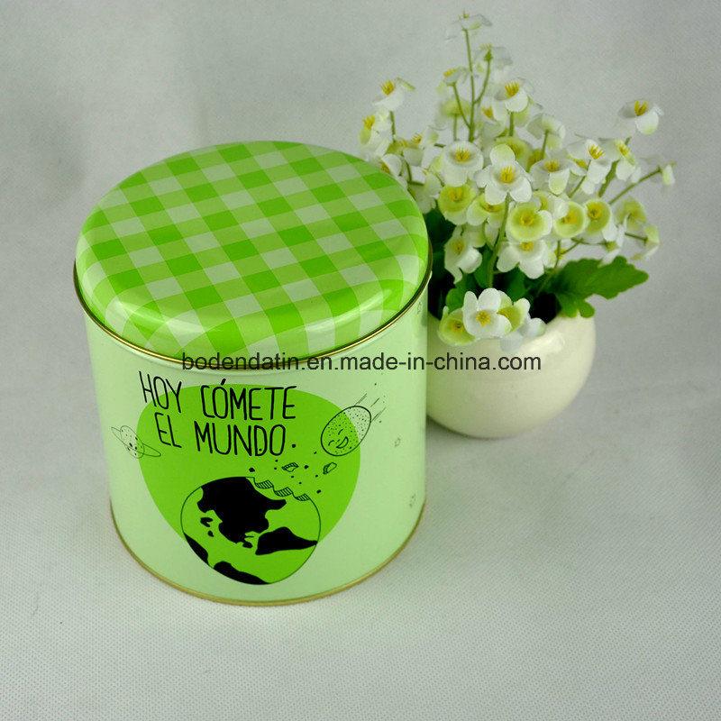 Custom Made Small Gift Tea Tin Box with Cmyk Printing