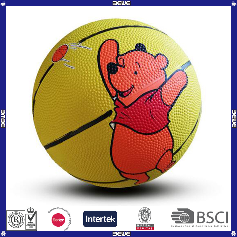 Official Size #1#2#3#5#6#7 Rubber Basketball
