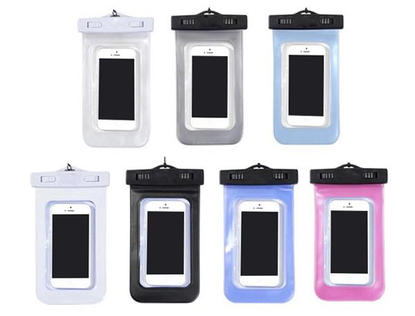 Universal Waterproof Bag for iPhone, Waterproof Cover Case for 5.5 Inch Smartphones