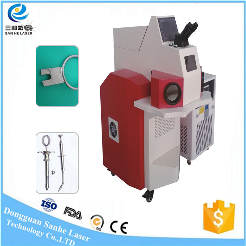 200wportable CNC Automatic Jewelry Laser Spot Welding / Welder Machine