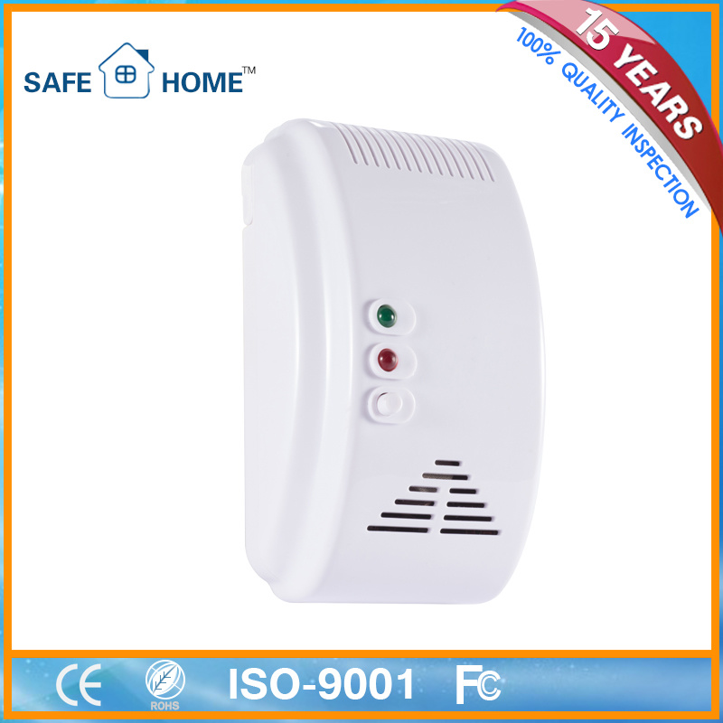 Home Security Gas Safety Device LPG Leakage Detector with Valve