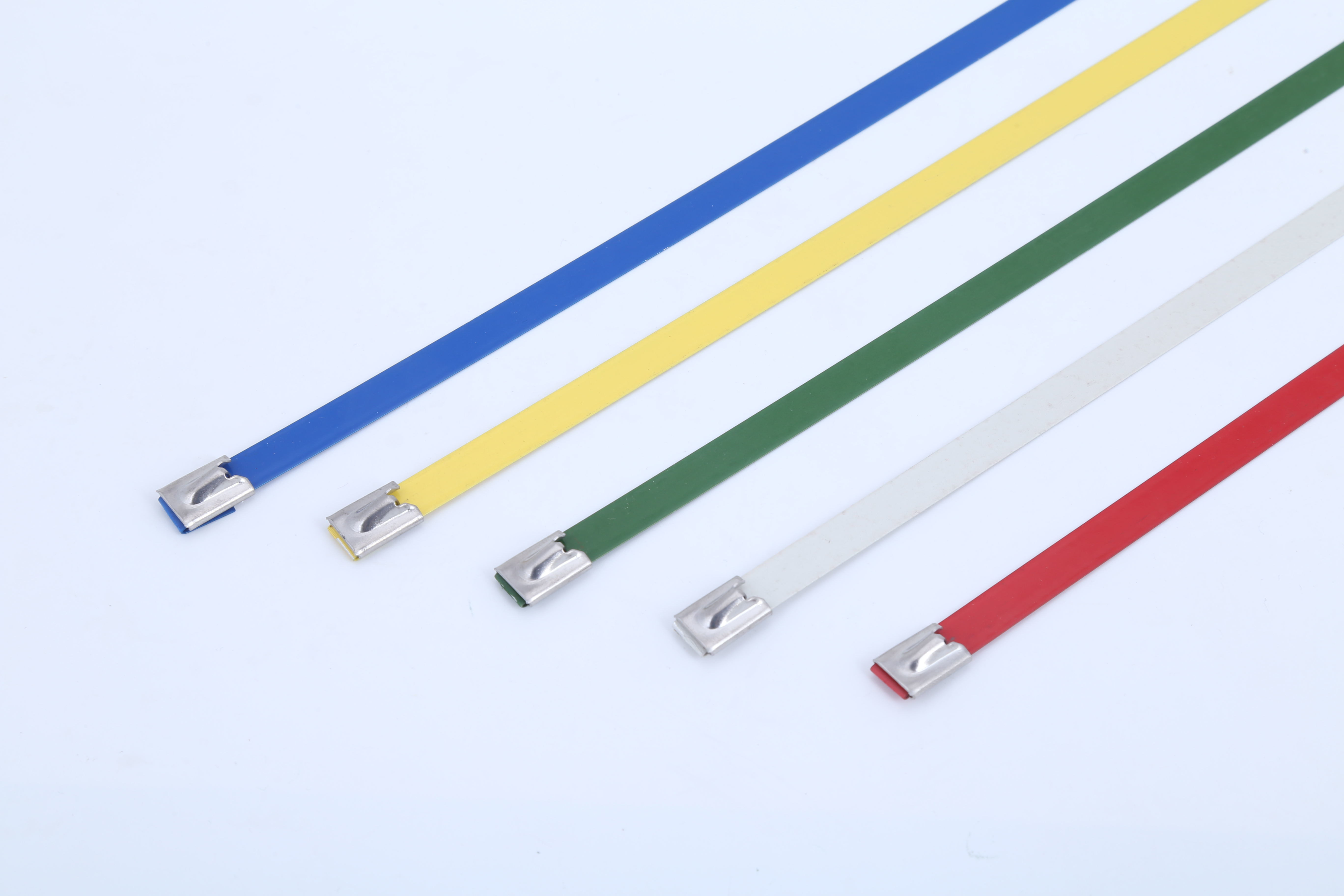 Ball Lock Epoxy Coated Stainless Steel Cable Tie