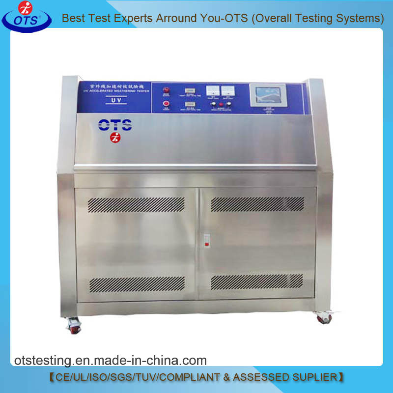 Laboratory Fabric Plastic Textile Paints UV Aging Test Chamber
